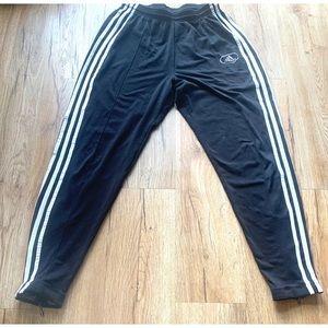 Vintage adidas size medium youth black track pants